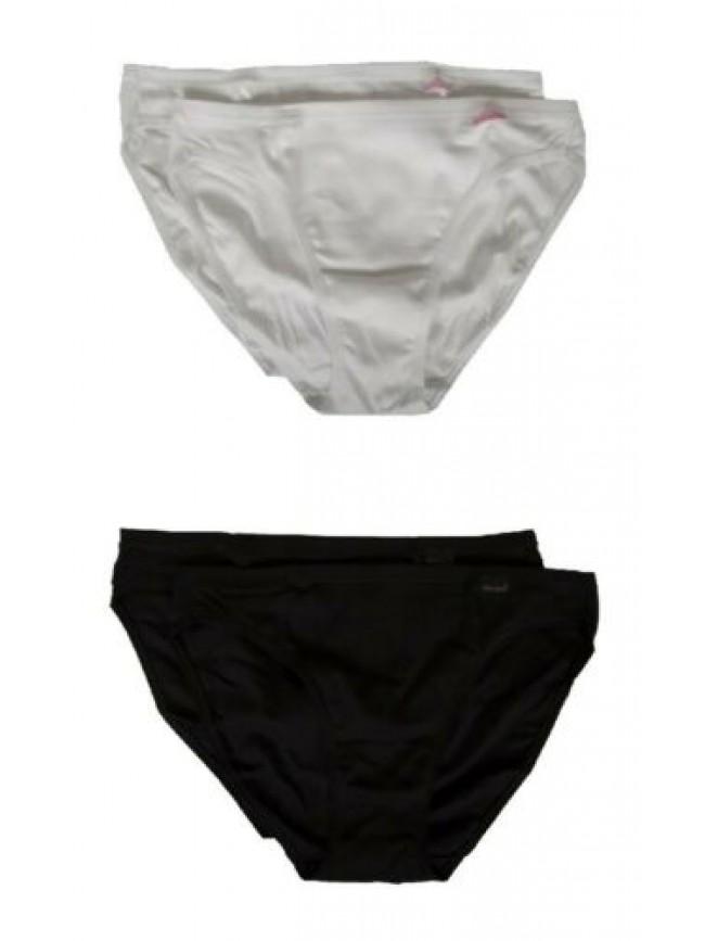 Confezione 2 slip donna cotone costina bielastica bipack NOTTINGHAM articolo MIN