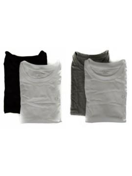 Confezione 2 t-shirt manica corta girocollo bimbo maschio ragazzo junior CK CALV