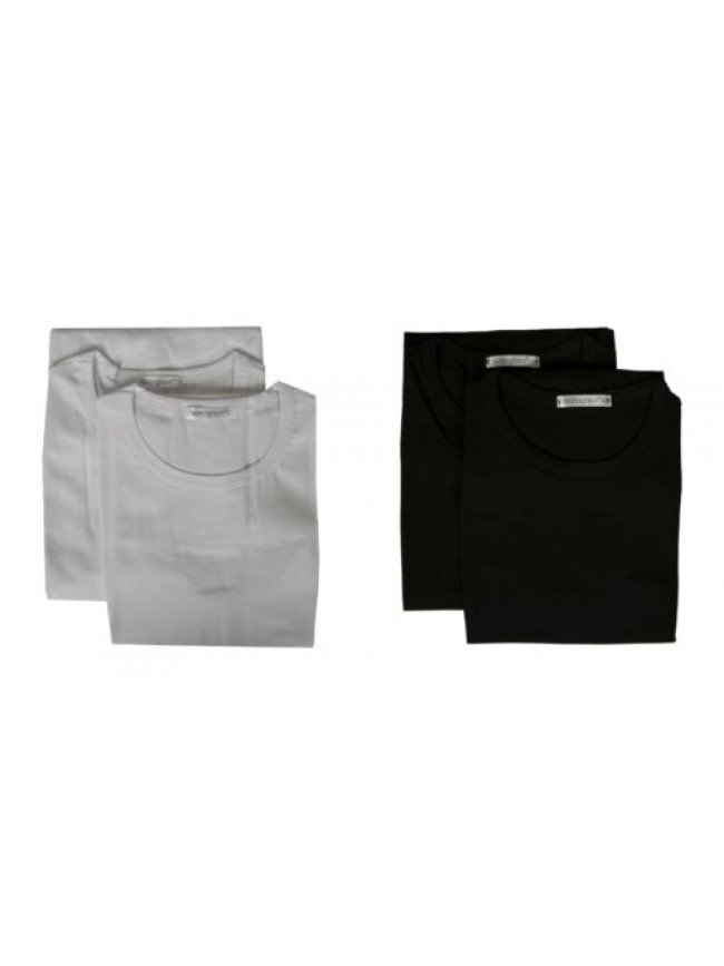 Confezione 2 t-shirt uomo canottiera smanicata cotone bipack NOTTINGHAM articolo