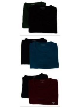 Confezione 2 t-shirt uomo manica corta girocollo EMPORIO ARMANI articolo 111267