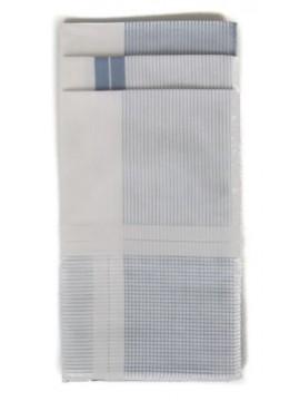 Confezione 3 fazzoletti cm.45x45 PEROFIL articolo P324B