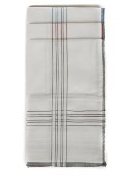 Confezione 3 fazzoletti cm.45x45 PEROFIL articolo P326B