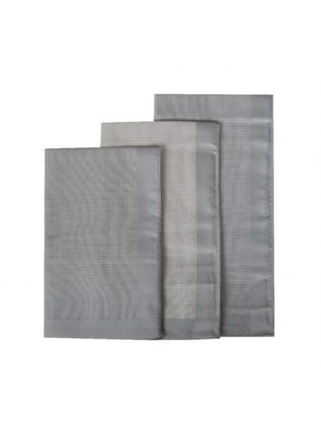 Confezione 3 fazzoletti in stoffa puro cotone cm.45x45 PEROFIL articolo P357