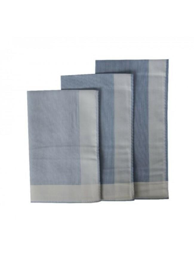 Confezione 3 fazzoletti in stoffa puro cotone cm.45x45 PEROFIL articolo P358