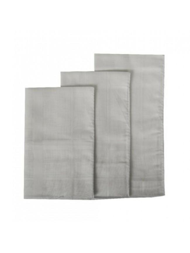 Confezione 3 fazzoletti in stoffa puro cotone cm.45x45 PEROFIL articolo P537