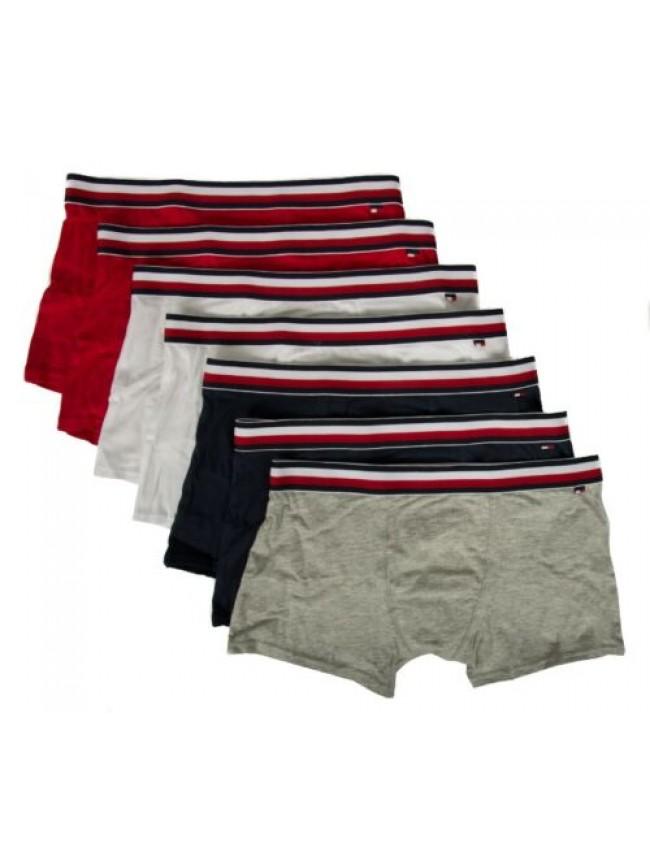 Confezione 7 boxer bimbo maschio ragazzo junior underwear TH TOMMY HILFIGER arti
