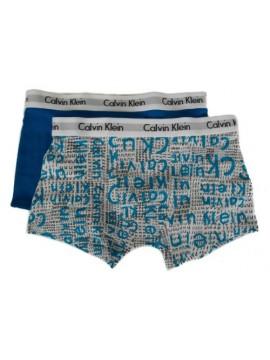 Confezione bipack 2 boxer bimbo maschio ragazzo junior CK CALVIN KLEIN B70B70016