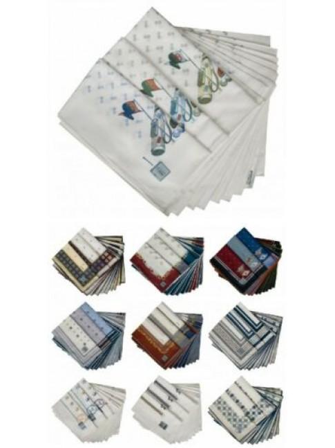 Confezione scatola 12 fazzoletti cm.50x50 PEROFIL articolo VPRT00284-02
