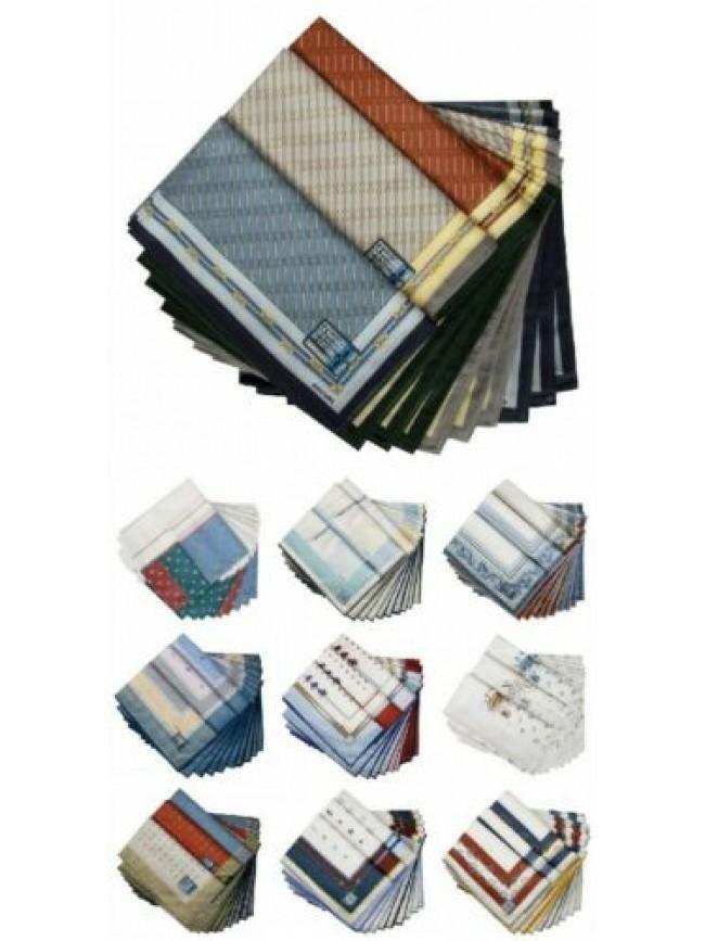 Confezione scatola 12 fazzoletti cm.50x50 PEROFIL articolo VPRT00284-09