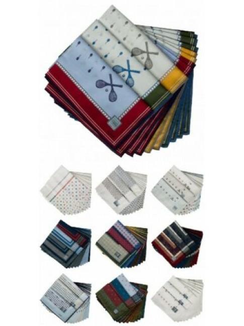 Confezione scatola 12 fazzoletti cm.50x50 PEROFIL articolo VPRT00284-10