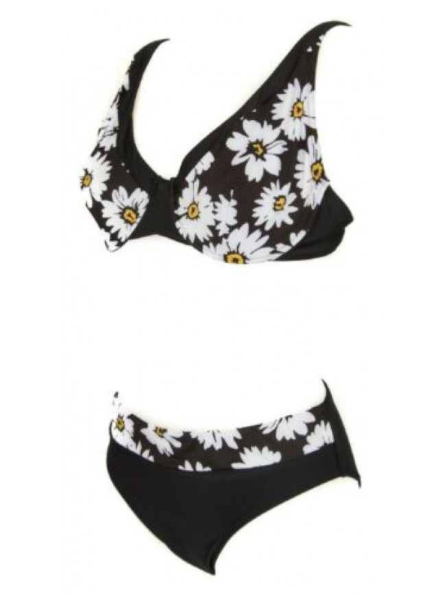 Costume bikini due pezzi donna con ferretto baschina RAGNO articolo 70450W