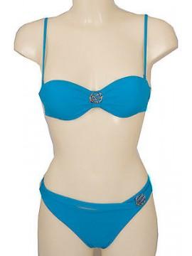 Costume bikini fascia bras EMPORIO ARMANI 262298 4P300 T.L 00032 TURQUAQUA