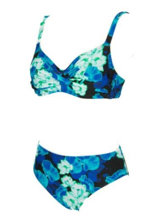 Costume due pezzi bikini donna mare o piscina con ferretto RAGNO articolo 71179W