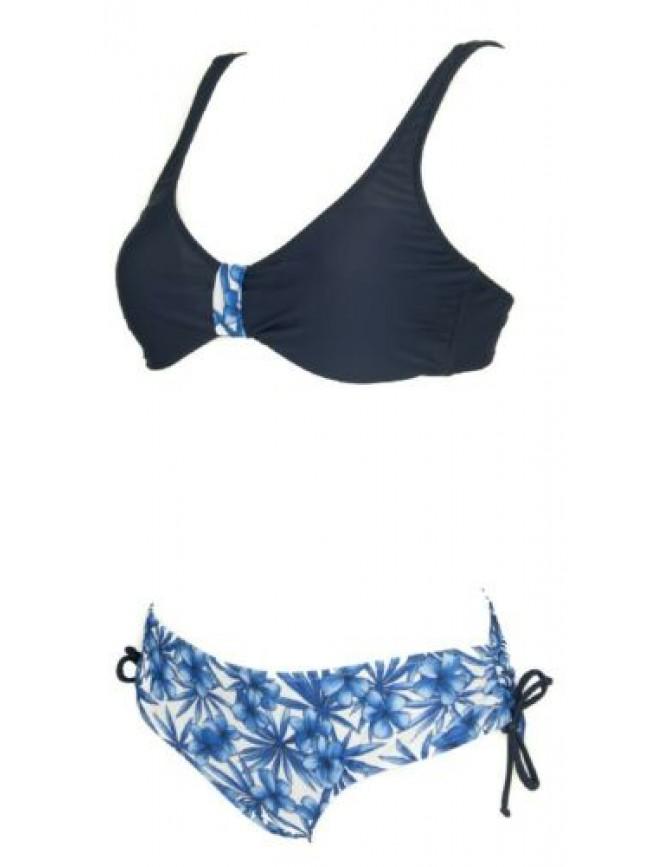 Costume due pezzi bikini donna mare o piscina coppa preformata RAGNO articolo 71