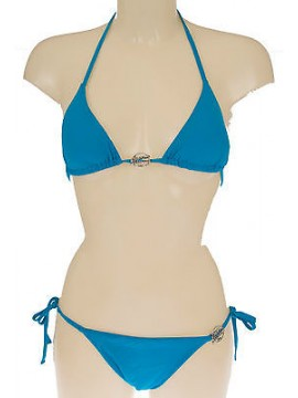 Costume triangolo bikini EMPORIO ARMANI 262185 4P300 T.M 00032 TURQUAQUA