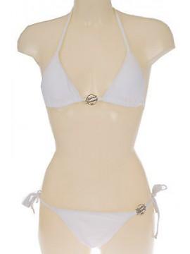 Costume triangolo bikini EMPORIO ARMANI 262185 4P300 T.S c.00010 BIANCO