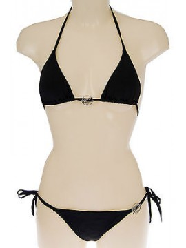 Costume triangolo bikini EMPORIO ARMANI 262185 4P300 T.XS c.00020 NERO
