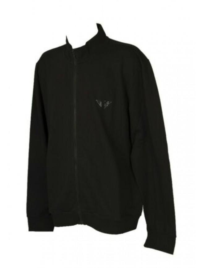 Felpa maglia giacca uomo aperta con zip manica lunga EMPORIO ARMANI articolo 111
