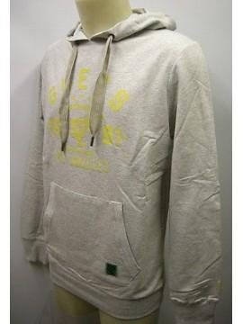 Felpa maglia uomo hoodie fleece man GUESS art.UA7I36 T.6/XL col.U678 grigio grey