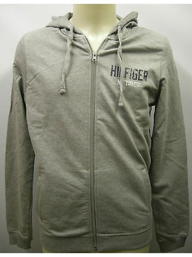 Felpa maglia uomo porter hoodie TOMMY HILFIGER 2S87901865 T.S 004 grigio grey