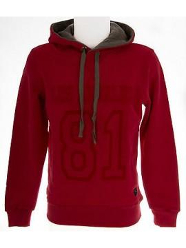Felpa maglione cappuccio uomo GUESS a.UA0U36 FLP90 T.L col.A545 rosy