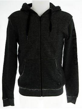 Felpa maglione cappuccio zip uomo GUESS a.UD0U33 FLP93 T.S col.996 nero