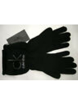 GUANTI DONNA GLOVES WOMAN CK CALVIN KLEIN KWS303 T.M COL.999 NERO BLACK