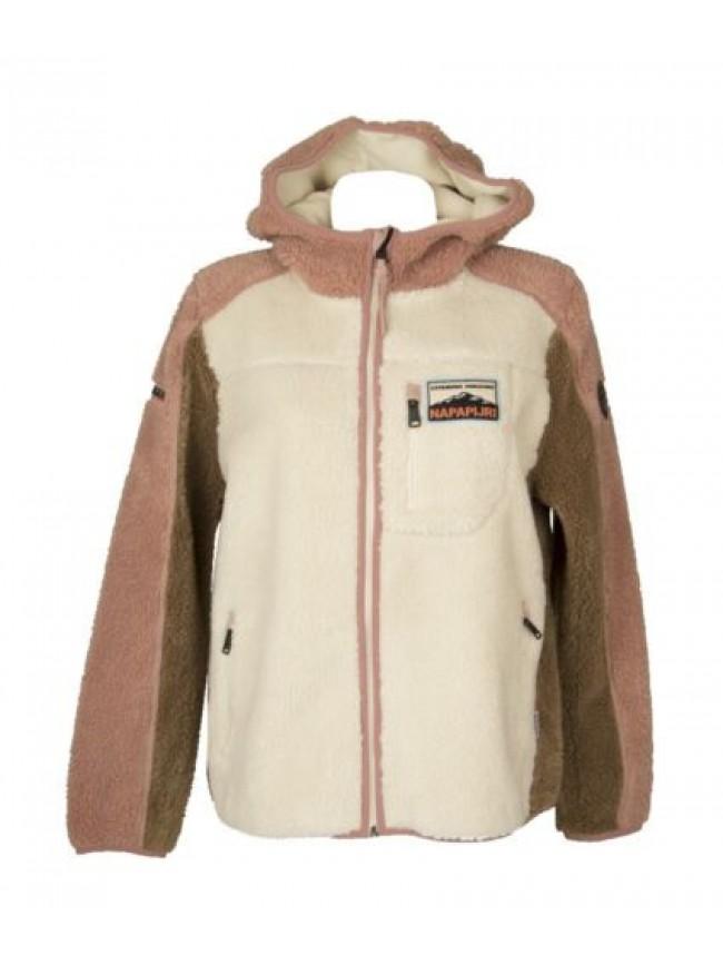 Giaccone donna giubbotto giacca con tasce e cappuccio invernale NAPAPIJRI artico