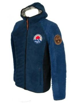 Giaccone giacca giubbotto felpa uomo con cappuccio zip e tasche NAPAPIJRI artico