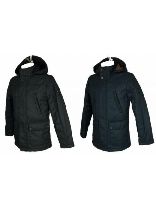 Giubbotto giaccone uomo cappuccio staccabile con zip e clip  IL GRANCHIO articol