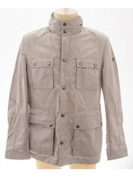 Giubbotto giubbino zip uomo jacket man GUESS a.M42L04 T.L col.928 grigio grey