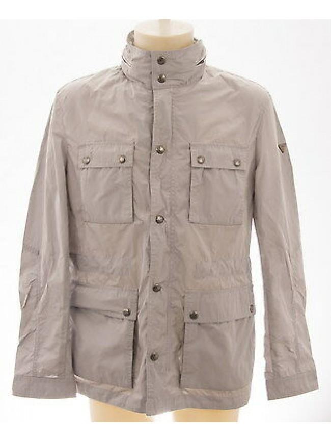 Giubbotto giubbino zip uomo jacket man GUESS a.M42L04 T.XL col.928 grigio grey