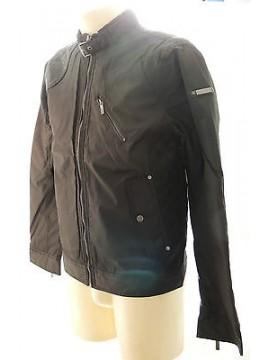 Giubbotto giubbino zip uomo jacket man GUESS art.M34L16 T.L col.996 nero black
