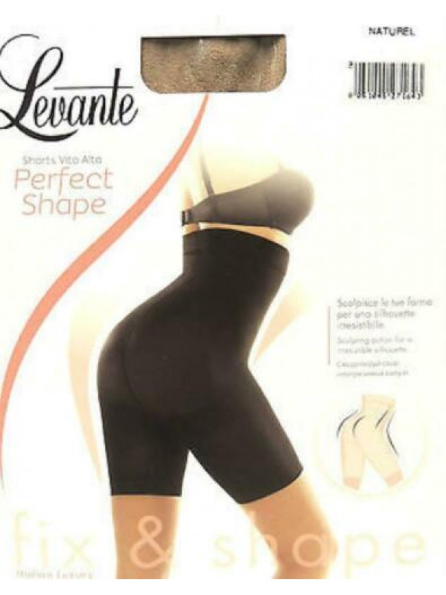 Guaina contenitiva shorts vita alta LEVANTE a.PERFECT SHAPE T.4/XL col.naturel