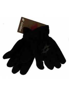 Guanti bimba bambina pile gloves LOTTO art. M5923 taglia UNICA colore NERO BLACK