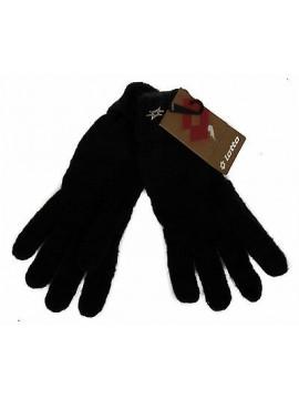 Guanti donna gloves LOTTO articolo Q1167 taglia UNICA colore NERO BLACK