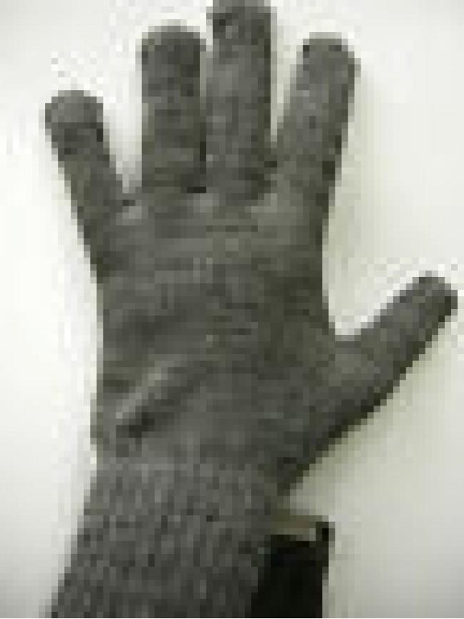 Guanti donna gloves woman ENRICO COVERI a.MG1041 t.unica col.35 antracite Italy