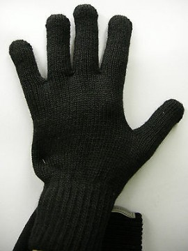 Guanti donna gloves woman ENRICO COVERI a.MG1041 t.unica col.36 nero black Italy