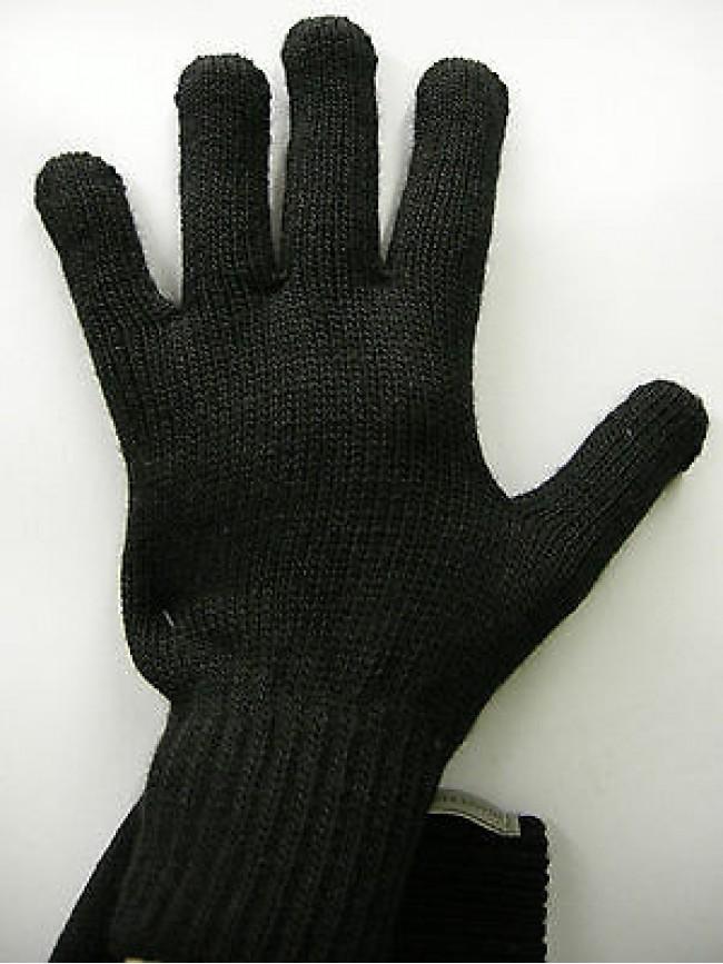 Guanti donna gloves woman ENRICO COVERI a.MG1041 t.unica col.36 nero black Italy