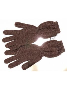 Guanti donna gloves woman ENRICO COVERI a.guanto medio 2 t.unica col.moro Italy