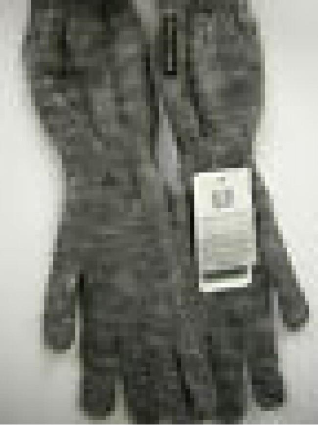 Guanti donna gloves woman ENRICO COVERI guanto medio t.unica c.grigio grey Italy