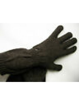 Guanti donna gloves woman ENRICO COVERI guanto medio t.unica c.moro Italy