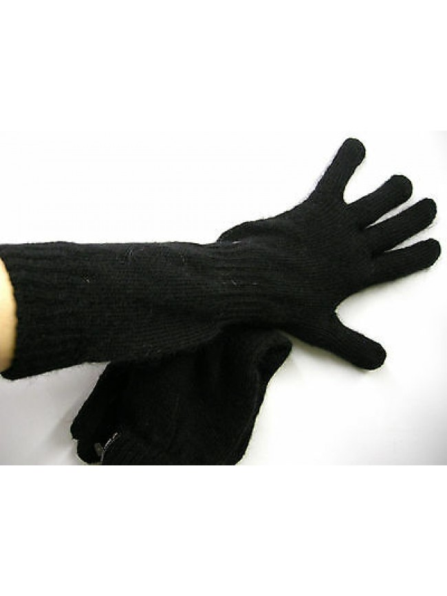 Guanti medi donna gloves woman SWEET YEARS a.MG1414 t.unica c.nero black Italy