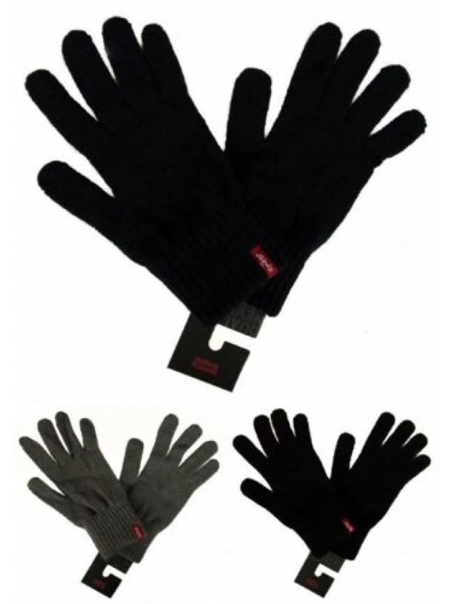 Guanti uomo guanto in acrilico LEVI'S articolo 228864 red tab gloves - made in I