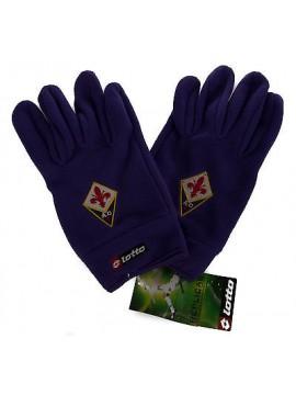 Guanti uomo pile gloves LOTTO articolo M3589 taglia XL colore VIOLA FIORENTINA