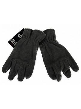 Guanti uomo pile gloves man KEY-UP art. 2GU60 taglia M colore 1408 GRIGIO