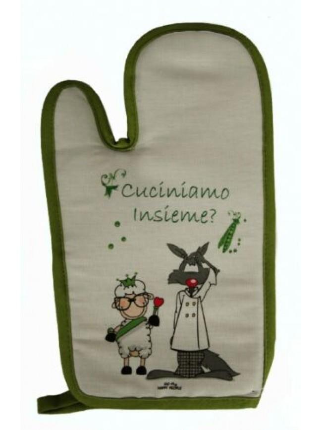 Guantone cucina guanto cotone HAPPY PEOPLE articolo KA08330101 MADE IN ITALY