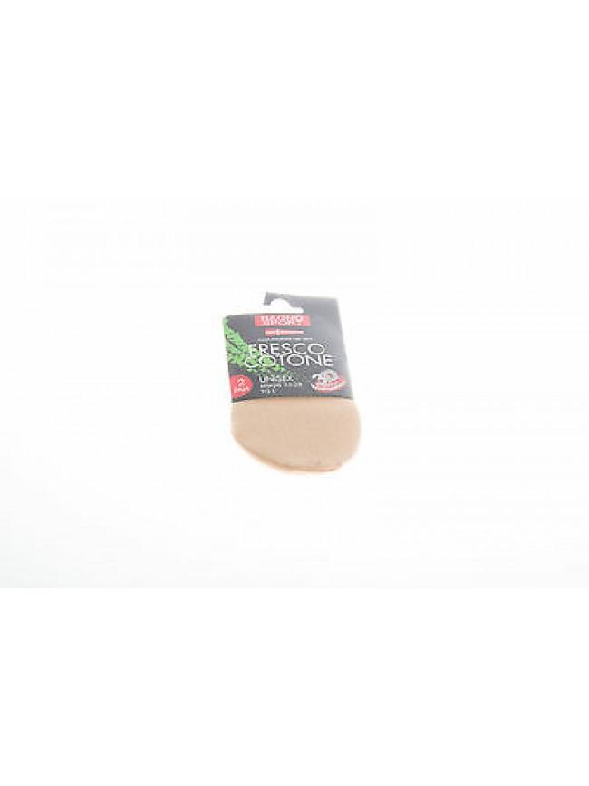 HYDG RAGNO 09283I t.43/46 col.098 PELLE n.2 calza invisibile calzino scomparsa