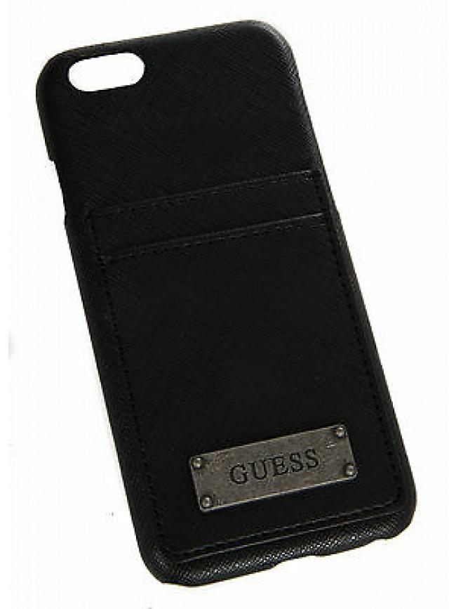 Hard case cover unisex per I-Phone 6 GUESS a.GMHC00 colore NERO BLACK