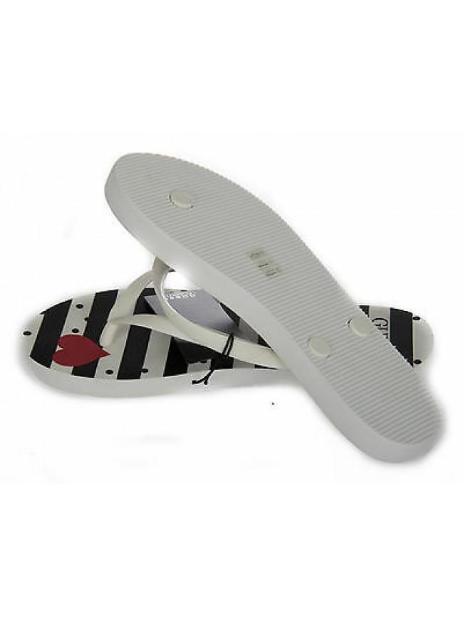 sports shoes 82f64 745a5 C Xl Guess Donna Infradito Ciabatta Taglia 42 Slippers 41 ...
